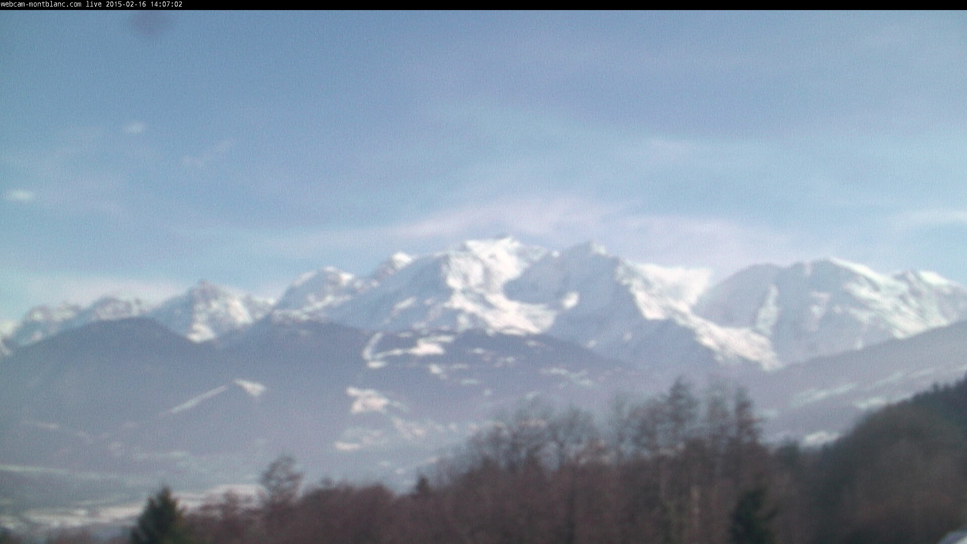 Webcam du Mont-Blanc